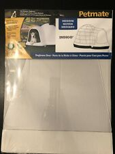 LOT OF (5) PETMATE Clear Pet Door For Medium Igloo Dog House Indigo Flap