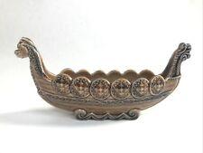 More details for wade vintage porcelain viking long boat ship vase trinket made in england