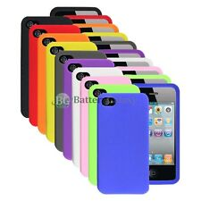 LOT Silicone Soft Slim Rubber Protector Gel Case Skin for Apple iPhone 4 4G 4S