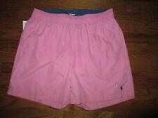 New Ralph Lauren Mens Size XL Pink Swim Trunks Shorts