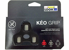 2017 LOOK Brand Genuine KEO GRIP Cleat Set 0° Fixed- Fit Classic Blade Max BLACK