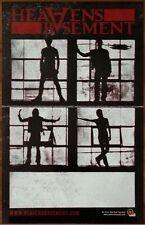 HEAVEN'S BASEMENT Filthy Empire Ltd Ed RARE Discontinued Poster+FREE Rock Poster