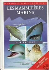 Livre les mammifères marins Hachette