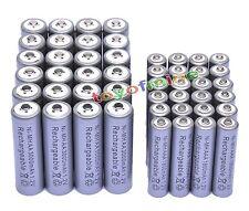 24XAA3000mAh+24X AAA 1800mAh Ni-MH rechargeable battery Grey