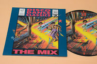 LP PICTURE DISC DISCO DANCE CLASSICS THE MIX 1°ST ORIG AUDIOFILI TOP NM !!!!!!!!