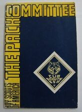 Vintage 1967 The Pack Committee Booklet Cub Boy Scouts America BSA