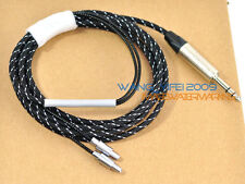 """2.5M Upgrade Replace Cable For HD800 Headphones With Neutrik 6.3mm 1/4"""" Plug"""