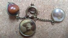 Baden Powell Scouts Lord Roberts Boer War 1900 antique brooch/ charm/fob/ badge