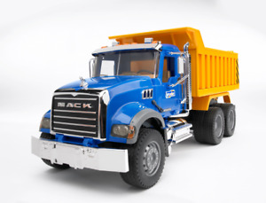Mack Granite Dump Truck Bruder Toy Car Model 1/16 1:16