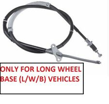Rear Hand Brake Cable L/H For Isuzu Trooper Bighorn 3.2 Petrol UBS25 LWB (1992+)