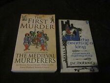 2X PB BOOKS - THE DEATH OF A KING-PC DOHERTY/THE FIRST MURDER-IAN MORSON ETC