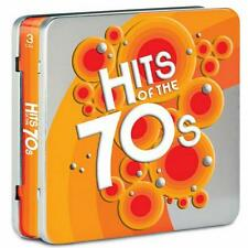 HITS OF THE 70s ~ COLLECTOR'S ED ~ 3 DISC SET IN TIN ~ W/ COMPLETE DISCOGRAPHY