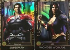 Injustice Gods Among Us Game Cards From Dave Busters FOIL Superman Godfall WW