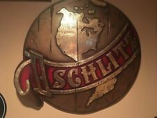 Authentic Vintage Embosograph Schlitz Bar Sign - Price Reduced!