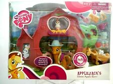 My Little Pony Applejack's Sweet Apple Barn Play Set 2010 NIB ( Rare )