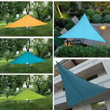 4*4*4m UV Sun Shade Waterproof Triangular Awning Outdoor Garden Patio Canopy