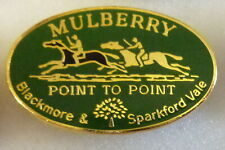 More details for mulberry point to point enamel pin badge blackmore & sparkford vale hunting gree