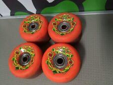 OJ Skateboard Wheels DP 56mm - COMPLETE SET - 4 WHEELS + BEARINGS - DUANE PETERS