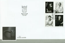 More details for aland 2021 fdc politicians stamps premiers of aland people 4v block