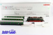 Märklin 26509 H0 AC  - Tren completo espresso de Berlin-Leipzig with E-18 of the
