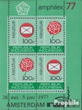 Indonesia Block23A (volledige uitgave) postfris MNH 1977 Stamp Exhibition