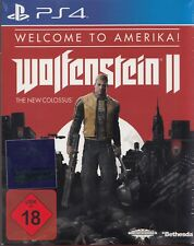 Wolfenstein II: The New Colossus - Welcome to Amerika - PS4 - NEU & OVP