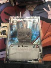 Naruto Cards CCG TCG St. Simon 190 FOIL UNCOMMON COMBINE SHIPPING
