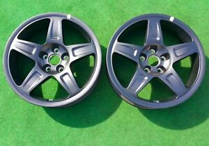 Factory Dodge Demon Drag Wheels Challenger Pair SRT OEM Skinny Front 68320572AA
