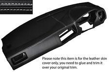 WHITE STITCH DASH DASHBOARD SKIN COVER FITS VW GOLF MK4 4 IV BORA JETTA 98-05
