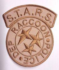 "Resident Evil STARS Raccoon Police Tan Desert Camo Logo 4"" Patch (REPA-107-D)"