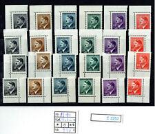 (E2252) B&M. Nr.89-94** Ecken  (24 Stück)