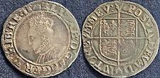 More details for elizabeth 1 hammered shilling 1594-6 mm woolpack  s2577 #915