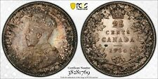 1934 25 Cents Canada MS-62 PCGS - PRICE REDUCED!!!