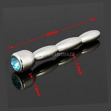 NEW Stainless Steel DIAMOND Male Urethral Dilatator Sounds Urethral Tube 69mm