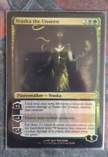 Mtg vraska the unseen foil x 1 great condition