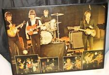 "BEATLES ""Live"" 1960's RARE Concert Images Poster 22x30 Mounted Print ORIGINAL"