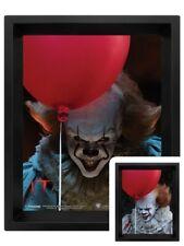 IT Pennywise Poster Evil Flip 3D Lenticular Framed Poster 20x25cm