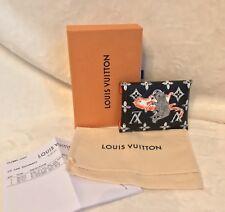 LOUIS VUITTON KIRIGAMI SMALL Monogram CATOGRAM CAT Snap Pouch Pouchette, RECEIPT