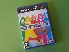 Disney Sing It Sony PlayStation 2 PS2 Game - Disney Interactive *NEW & SEALED*