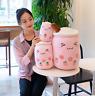 Bubble Tea Boba Cup Soft Stuffed Plush Pillow Fruits Tea Kawaii Cute Strawberry