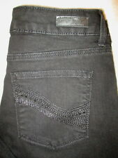 LEE Classic Fit Straight Stretch Womens Black Jeans Size 10 P x 29 340630A Mint