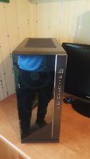 Inter-tech ARGB Midi-Tower PC-Gehäuse schwarz ATX mit 2x RGB Lüfter