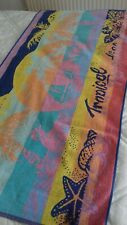 Large cotton beach towel
