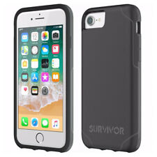 Griffin Survivor Strong Hard Case Cover for iPhone 8, 7, 6s, 6, Black