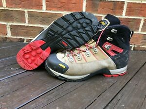 Asolo Fugitive GTX Boots Men's Size 12 WIDE  Wool/black Hiking