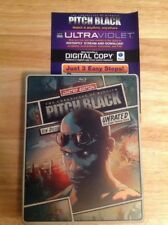 Pitch Black (Blu-ray/Dvd,2013,2-Disc Set,Steelbook)Authentic Us Release