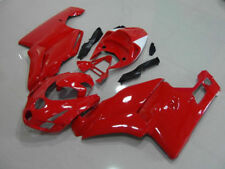 Motorcycle Complete Body Fairing Injection Kit for Ducati 749 999 2005 2006 Red
