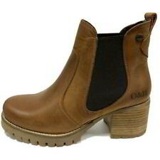 Oak and Hyde Kensington Chelsea Womens Leather Ankle Boots Size 4-9