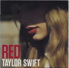 Red by Taylor Swift CD 2012, Big Machine Records! Clean CD!