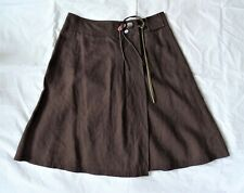 Mexx 8 Brown Linen Skirt